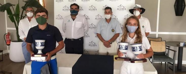 Laurentino Gil y Alejandra Cervera se coronan en Aloha