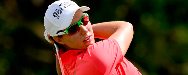 Carlota Ciganda sigue brillando en Asia con otro segundo puesto