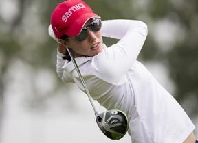 Carlota Ciganda repite resultado (68) y se queda a cinco escalones de la cabeza
