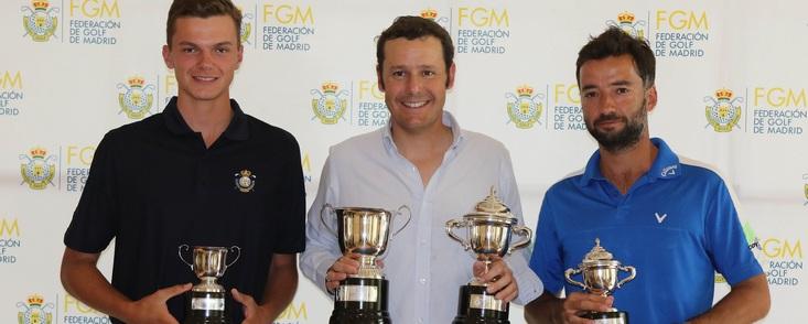 Gran victoria de Carlos del Corral en Golf Santander