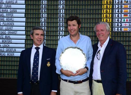 Carlos de Corral suma el cuarto triunfo español en la competición