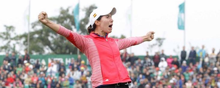 Carlota Ciganda logra su primera victoria en la LPGA