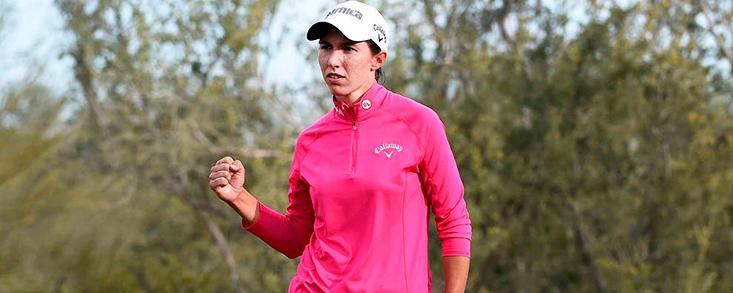 Buen comienzo de Carlota Ciganda en el regreso del LPGA Tour