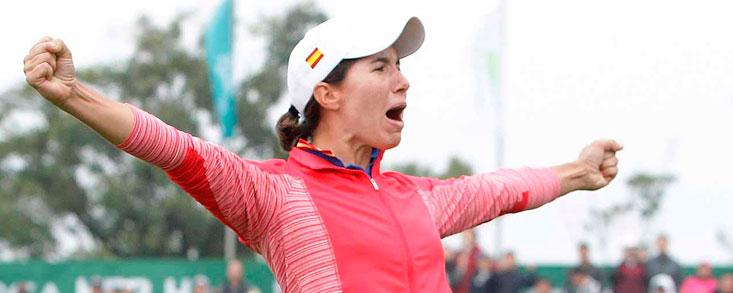 Recuerdos de pasión para Carlota Ciganda que defiende título en Corea del Sur