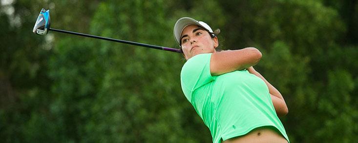 Carmen Alonso comienza con buen pie en el Dubai Moonlight Classic que lidera la mexicana María Fassi con 63 golpes