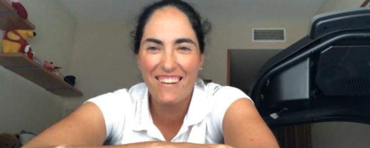 """Carmen Alonso: """"El golf nos enseña paciencia y tolerancia a la frustración"""""""