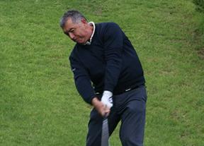José Manuel Carriles, líder en Alenda Golf