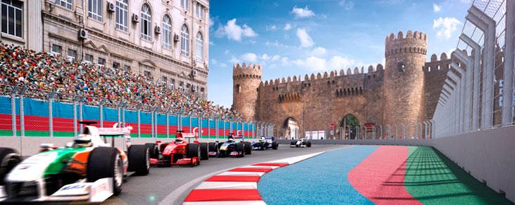 """La """"Feria"""" de la Fórmula1 abre sucursal en Azerbaiyán"""