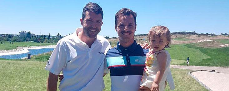 Dobles parejas empatadas en el Centro Nacional de Golf