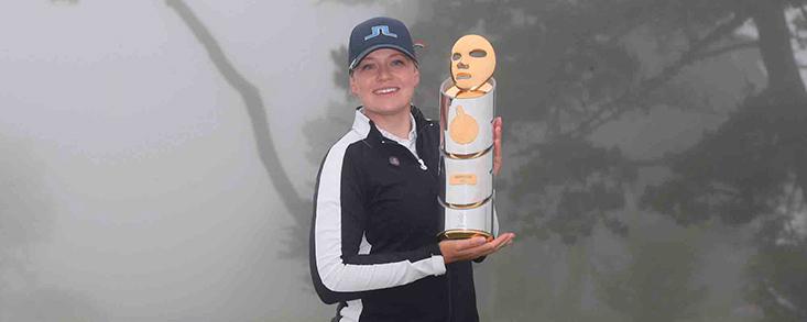 Matilda Castren se convierte en la primera finlandesa que gana en el LPGA Tour