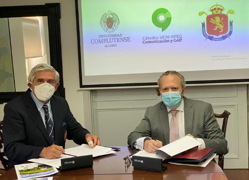RFEG y Universidad Complutense crean la Cátedra de Comunicación y Golf