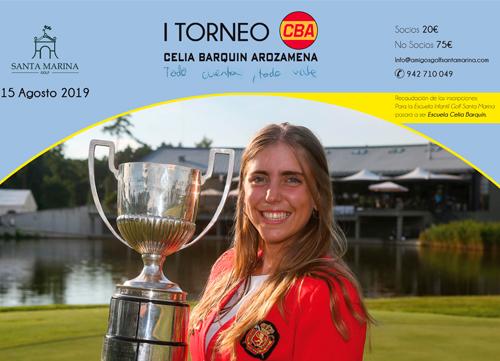 Torneo homenaje a Celia Barquín en Golf Santa Marina