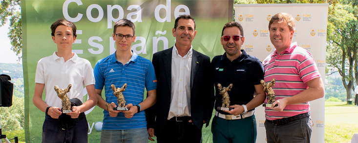 La Copa de España de 9 hoyos llega al Club de Campo Villa de Madrid