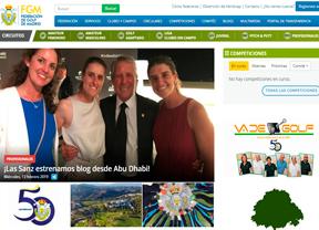 Va de Golf en la web de la Federación de Golf de Madrid