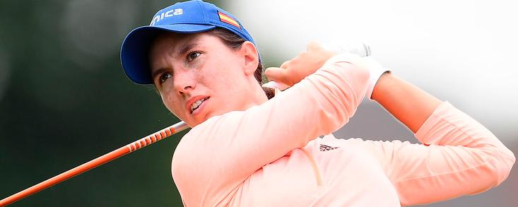 Carlota Ciganda no se rinde y sigue cerca del top ten en Australia