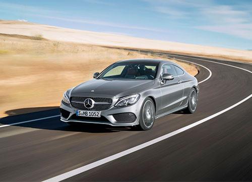 Exrpesividad deportiva en el Mercedes Clase C Coupé