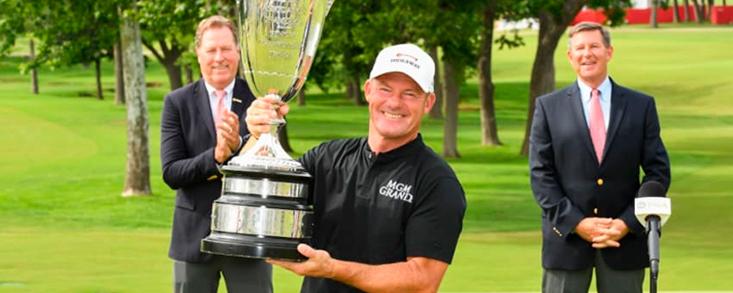 Solvente victoria de Alex Cejka en el KitchenAid Senior PGA Champiosnship