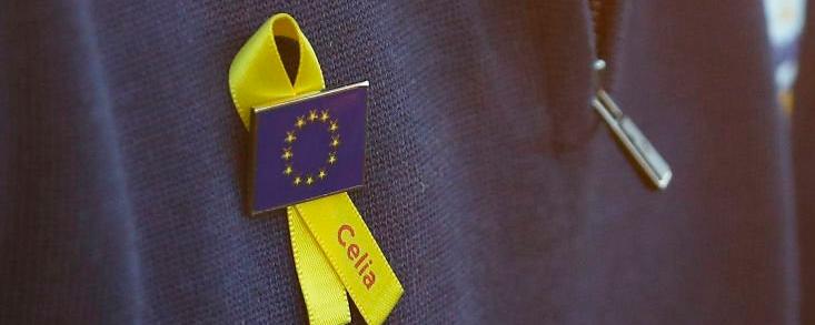 Europa homenajea a Celia Barquín