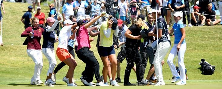 Una gran semana para el golf femenino europeo
