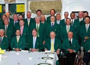 La cena de Campeones se mantiene en Augusta el 10 de noviembre