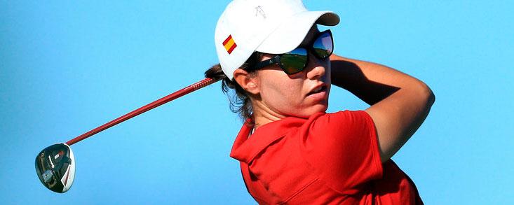 Carlota Ciganda mantiene el ritmo en China y ya es cuarta con -4