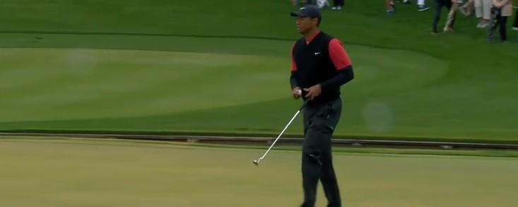 Woods acaba con su mejor vuelta (-3)