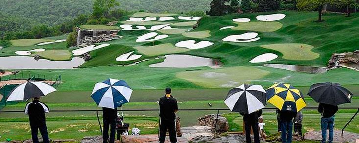 Las leyendas del golf tendrán que esperar