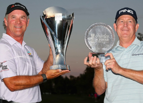 Maggert gana la Charles Schwab Cup y McCarron la Orden de Mérito