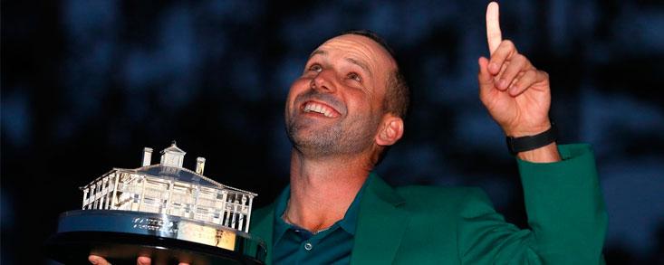 Sergio García gana su primer Major en Augusta