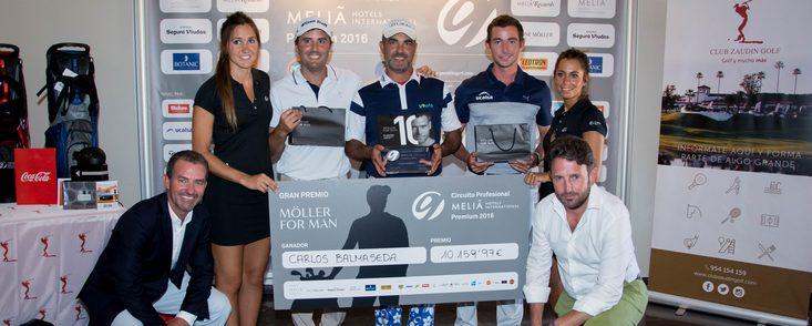 Carlos Balmaseda gana su primer torneo del Circuito Nacional
