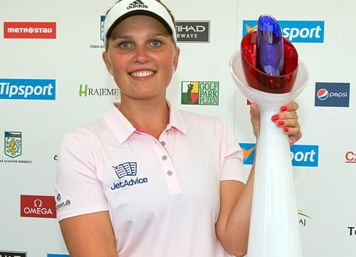 Primera victoria europea de Nanna Koerstz Madsen