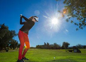 El golf femenino español, una