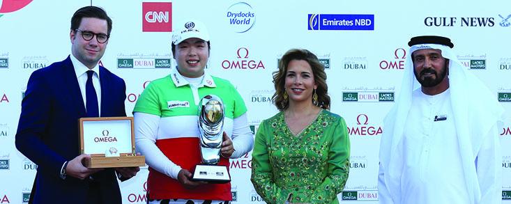 Dominio absoluto de Shanshan Feng que se convierte en la primera china en ganar la Orden de Mérito del LET