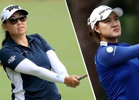 Nasa Hataoka y Minja Lee colideran el torneo con -13 con Azahara Muñoz con -4