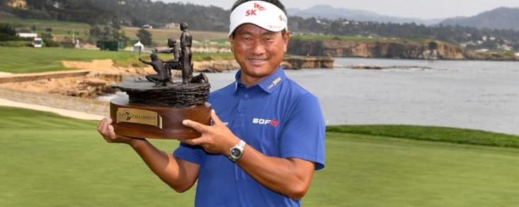 Segunda victoria de K.J. Choi en el Champions Tour
