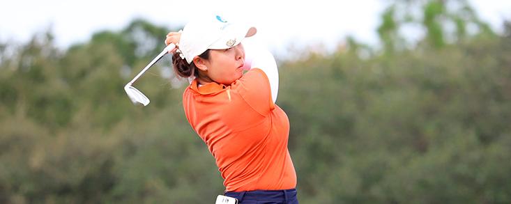Robyn Choi toma la delantera en Daytona Beach