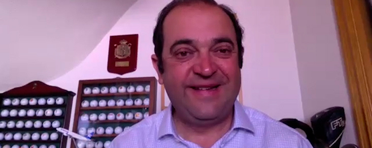 Jesús Barrera: 'El Club de Campo estará preparado en la fecha que nos diga el European Tour'