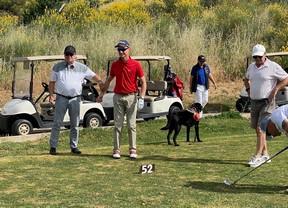 Raúl Fernández, Marc Ollér y Alex de Miguel, invidentes, golfistas y apasionados de la vida