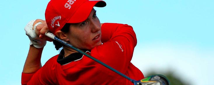 Buen comienzo de Carlota Ciganda en el Gaindridge LPGA at Boca Rio