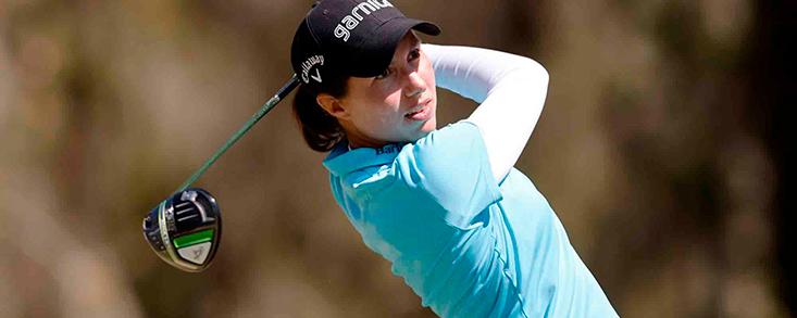 Carlota Ciganda saca su mejor versión para firmar 65 golpes y se postula para ganar el LPGA Drive On Championship