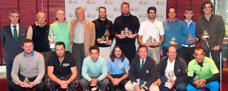 21 torneos y una gran final en Golf Santander