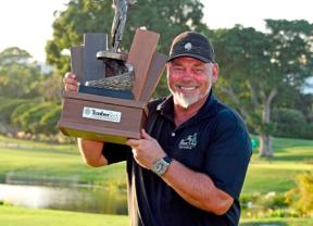 Darren Clarke estrena palmarés en el PGA Tour Champions con Jiménez cuarto