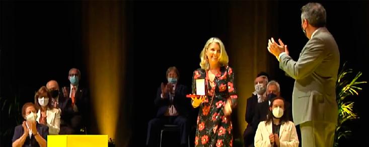 Claudia Hernández Medalla de Sevilla 2021