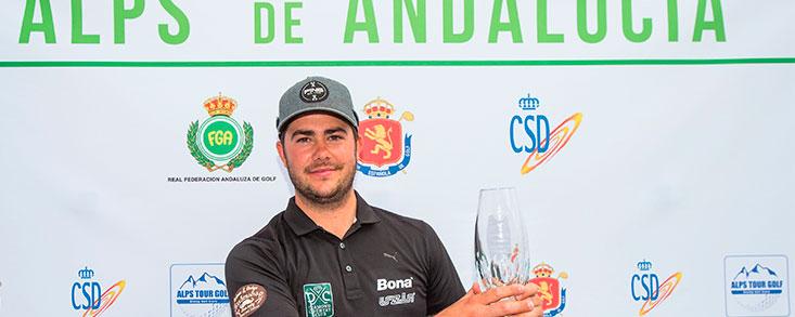 Clements Gaster le arrebata el triunfo a Sebastián García Rodríguez