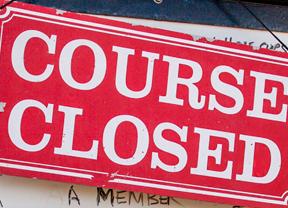 Los campos de golf del Reino Unido cierran sus puertas hasta el 2 de diciembre