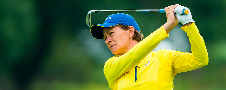 Catriona Mathew sustituye a Suzann Pettersen en el equipo europeo
