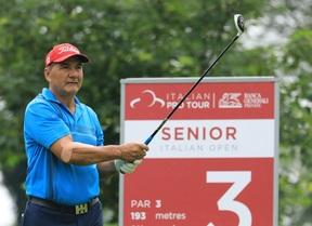 José Cóceres y Marc Ferry (-6) colideran el torneo tras 36 hoyos