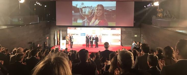 El COE rinde homenaje póstumo a la golfista Celia Barquín