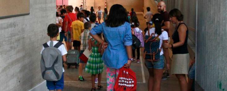 Simón propone una vuelta al colegio con la mitad de alumnos