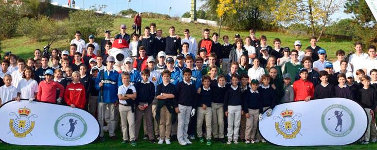 'Golf en los colegios', imparable en Madrid